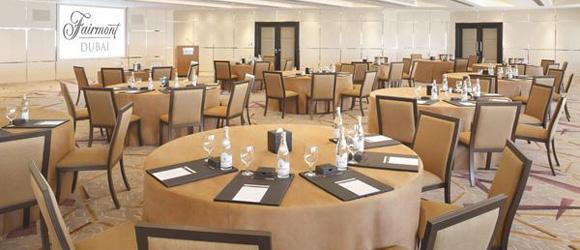Dubai Fairmont Hotel Conference Room